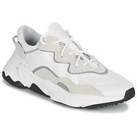 Chaussures Baskets basses adidas Originals OZWEEGO Blanc / Beige