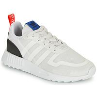 Chaussures Enfant Baskets basses adidas Originals SMOOTH RUNNER C Blanc / Noir