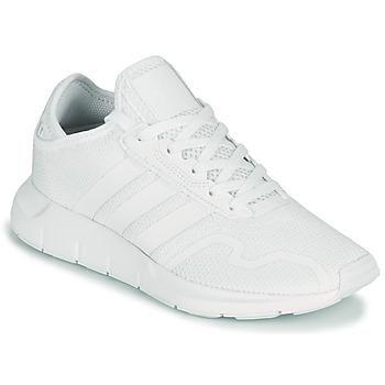 Chaussures Enfant Baskets basses adidas Originals SWIFT RUN X J Blanc