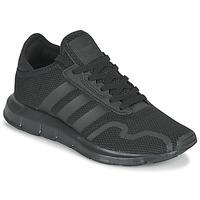 Chaussures Enfant Baskets basses adidas Originals SWIFT RUN X J Noir