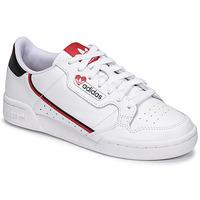 Chaussures Femme Baskets basses adidas Originals CONTINENTAL 80 Blanc / Rouge