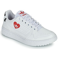 Chaussures Femme Baskets basses adidas Originals NY 92 Blanc / Rouge