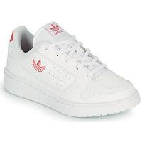 Chaussures Enfant Baskets basses adidas Originals NY 92 C Blanc / Rose