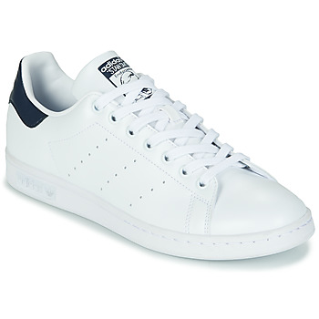 Chaussures Baskets basses adidas Originals STAN SMITH ECO-RESPONSABLE Blanc / Marine