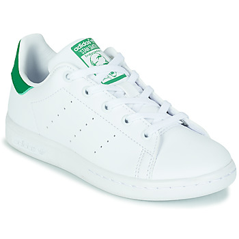 Chaussures Enfant Baskets basses adidas Originals STAN SMITH C ECO-RESPONSABLE Blanc / Vert