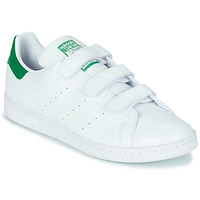 Chaussures Baskets basses adidas Originals STAN SMITH CF ECO-RESPONSABLE Blanc / vert