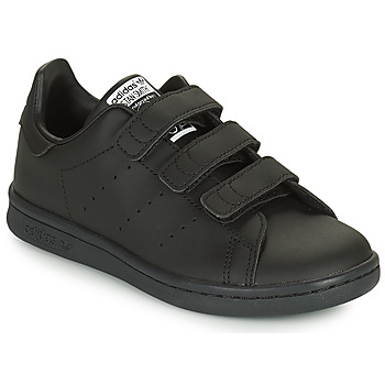 Chaussures Enfant Baskets basses adidas Originals STAN SMITH CF C ECO-RESPONSABLE Noir
