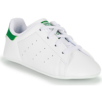 Chaussures Enfant Baskets basses adidas Originals STAN SMITH CRIB ECO-RESPONSABLE Blanc / Vert
