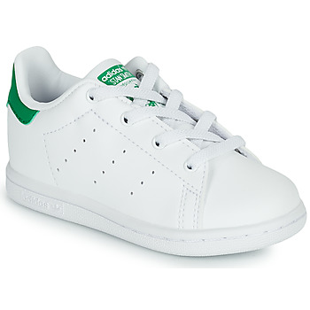 Chaussures Enfant Baskets basses adidas Originals STAN SMITH EL I ECO-RESPONSABLE Blanc / Vert