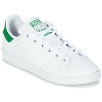 Chaussures Enfant Baskets basses adidas Originals STAN SMITH J ECO-RESPONSABLE Blanc / Vert