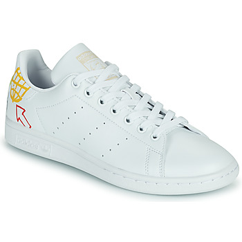 Chaussures Femme Baskets basses adidas Originals STAN SMITH W ECO-RESPONSABLE Blanc / Multicolore