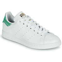 Chaussures Femme Baskets basses adidas Originals STAN SMITH W ECO-RESPONSABLE Blanc / Vert graphique