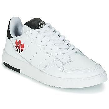 Chaussures Femme Baskets basses adidas Originals SUPERCOURT Blanc / Noir