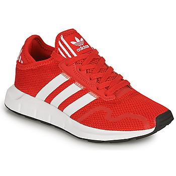 Chaussures Enfant Baskets basses adidas Originals SWIFT RUN X J Rouge
