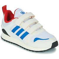 Chaussures Enfant Baskets basses adidas Originals ZX 700 HD CF C Beige / Bleu