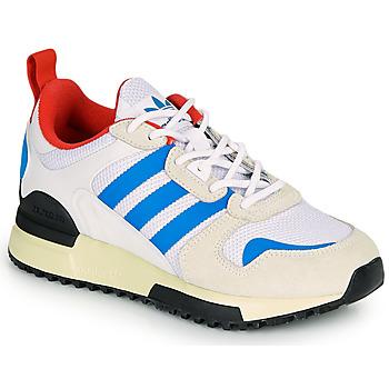 Chaussures Enfant Baskets basses adidas Originals ZX 700 HD J Beige / Bleu