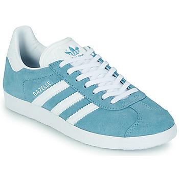 Chaussures Femme Baskets basses adidas Originals GAZELLE W Bleu