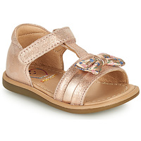 Chaussures Fille Sandales et Nu-pieds Shoo Pom TITY NEW KNOT Rose