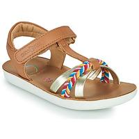 Chaussures Fille Sandales et Nu-pieds Shoo Pom GOA SALOME Marron