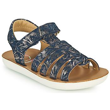 Chaussures Fille Sandales et Nu-pieds Shoo Pom GOA SPART Bleu