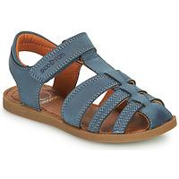 Chaussures Garçon Sandales et Nu-pieds Shoo Pom SOLAR TONTON Bleu