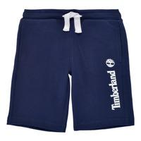 Vêtements Garçon Shorts / Bermudas Timberland SHOTA Marine