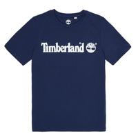 Vêtements Garçon T-shirts manches courtes Timberland VUILL Marine
