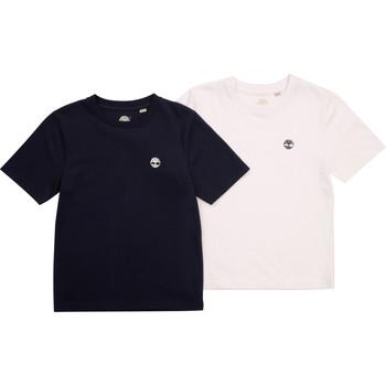 Vêtements Garçon T-shirts manches courtes Timberland FONNO Multicolore