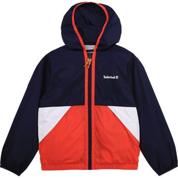 Vêtements Garçon Coupes vent Timberland COPPO Multicolore