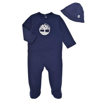 Vêtements Garçon Pyjamas / Chemises de nuit Timberland HIPPI Marine