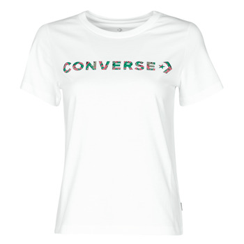 Vêtements Femme T-shirts manches courtes Converse CENTER FRONT ICON CLASSIC TEE Blanc