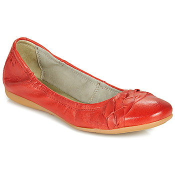 Chaussures Femme Ballerines / babies Dream in Green CICALO Rouge
