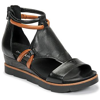 Chaussures Femme Sandales et Nu-pieds Dream in Green LIRABIEN Noir