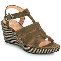 Chaussures Femme Sandales et Nu-pieds Adige FLORY V5 VELOURS MILITAIRE Kaki