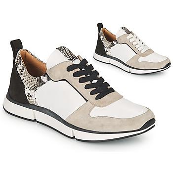 Chaussures Femme Sandales et Nu-pieds Adige VANILLE V5 PYTHON ICE Blanc