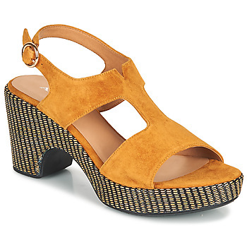 Chaussures Femme Sandales et Nu-pieds Adige ROMA V7 UNER SAFRAN Marron
