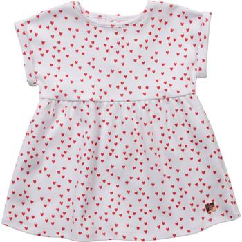 Vêtements Fille Robes courtes Carrément Beau Y92119-10B Blanc