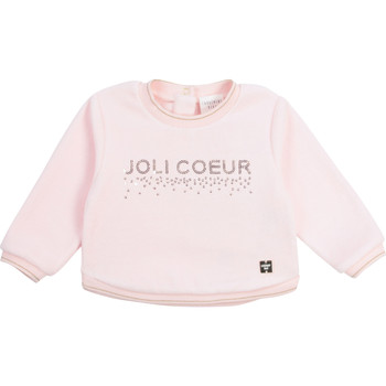 Vêtements Fille Sweats Carrément Beau POLINA Rose
