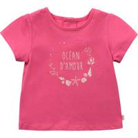 Vêtements Fille T-shirts manches courtes Carrément Beau Y95270-46C Rose