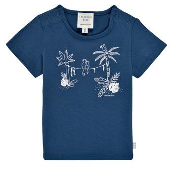 Vêtements Garçon T-shirts manches courtes Carrément Beau NINOUA Marine