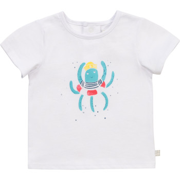 Vêtements Garçon T-shirts manches courtes Carrément Beau Y95275-10B Blanc