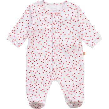 Vêtements Fille Pyjamas / Chemises de nuit Carrément Beau Y97101-10B Blanc