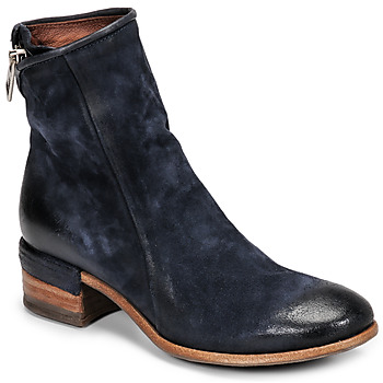 Chaussures Femme Bottines Airstep / A.S.98 GIVE ZIP Marine