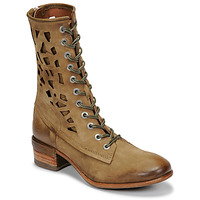 Chaussures Femme Boots Airstep / A.S.98 GIVE HIGH Kaki