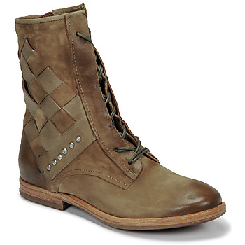 Chaussures Femme Boots Airstep / A.S.98 ZEPORT TRESSE Kaki