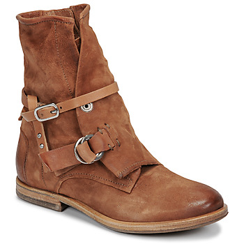 Chaussures Femme Boots Airstep / A.S.98 ZEPORT BRIDE Camel