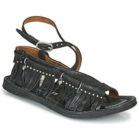 Chaussures Femme Sandales et Nu-pieds Airstep / A.S.98 RAMOS FRANGE Noir