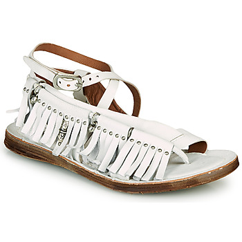 Chaussures Femme Sandales et Nu-pieds Airstep / A.S.98 RAMOS FRANGE Blanc