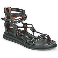Chaussures Femme Sandales et Nu-pieds Airstep / A.S.98 POLA SQUARE Noir