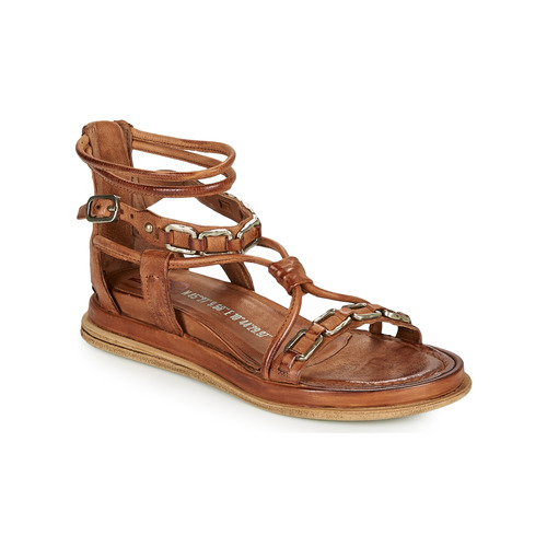 Chaussures Femme Sandales et Nu-pieds Airstep / A.S.98 POLA SQUARE Camel